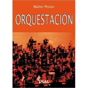 Orquestación - Walter Piston - Libro