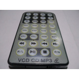 Control Remoto Pantalla Foston Fs-818 Vcd Cd Mp3 Nuevo