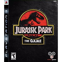 Jurassic Park The Game Ps3 Via Psn Original