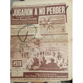 Periodicos Esto/exclusivo Mundial De Futbol 1970