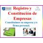 Constitucion De Compañias Firmas Rif Economicas O4247643408