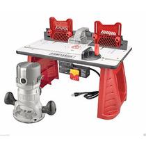 Router Y Mesa 2 Hp Craftsman Combo Power Tool 1/4 Y 1/2 Inc