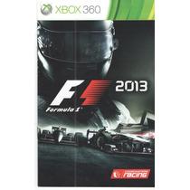 Manual De Instrucoes Formula 1-21013 /orig /xbox360