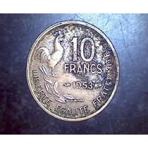 Lucas Col Francia Moneda 10 Francos 1953
