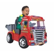 Caminhao Mini Truck Eletrico Magic Toys Infantil Carro