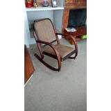 Raro Modelo De Cadeira De Balanço Gerdau, Art Deco.