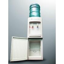 Dispenser Frio Calor Con Heladera Para Botellon
