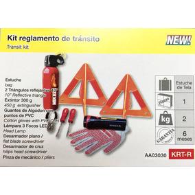 Kit Emergencia Reglamento De Transito
