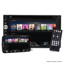 Central Multimídia Multilaser Evolve+ Gps/tv Mirror Usb/bt