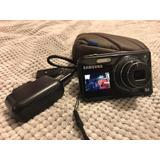 Cámara Samsung Pl170 16mp Zoom Óptico 5x Doble Pantalla +8gb