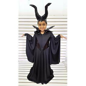 Disfraz Malefica Vestido Niña Halloween Muertos Envio Gratis