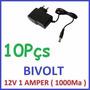 Fonte Estabilizada Chaveada Biv. 12v 1a Cftv Fita Led Camera