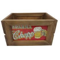 Mini Engradado Madeira Rústico Vintage Brahma Chopp