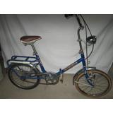 Bicicleta Plegable Ondina Super Impecable Ideal Coleccion