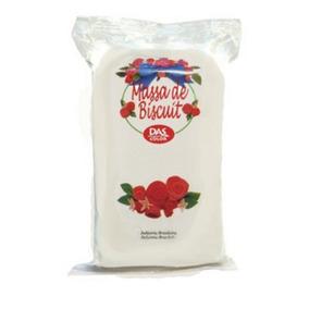 Massa De Biscuit 85g Das Color - Branca