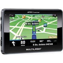 Gps Navegador 4.3 Polegadas Touchscreen Gp033 - Multilaser.