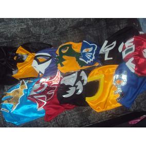Lote De 10 Mascaras De Luchadores P/adulto Varios Modelos