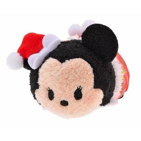 Peluche Minnie Navidad Tsum Tsum Mini, Original Disney Store