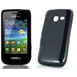 Capa Tpu Silicone Case Samsung Galaxy Y Wave S5380 Pelicula