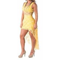 Lindo Vestido Em Renda Para Noite Balada Festa Show