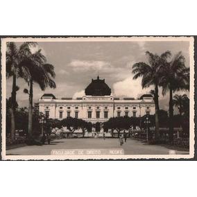 Pernambuco - Recife, Faculdade De Direito - Cartão Postal A