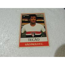 Card Original Tecão Nº 6 São Paulo Futebol Ping Pong