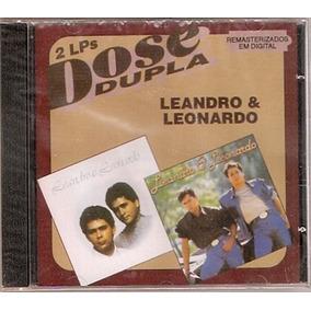 Cd Leandro E Leonardo - Dose Dupla ( 2 Lps ) - Novo***