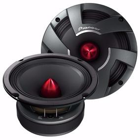 Par De Medios Pioneer Ts-m650pro Originales 6,5 17cm Audio