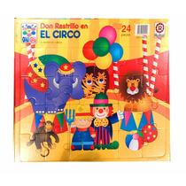 Puzzle Don Rastrillo El Circo Rompecabezas Niños 24 Piezas