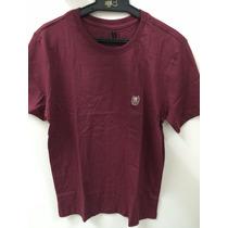 Camiseta Básica Polo Wear Original Vinho X0013679