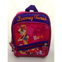 Lancheira Escolar Térmica Looney Tunes Original Rosa Menina