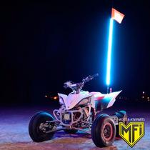 Antena Led Cuatriciclo Honda 90 Cm Azul Mfi