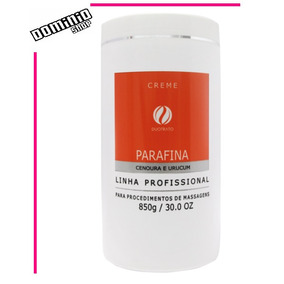 Duotrato Creme De Parafina Cenoura E Urucum 1kg
