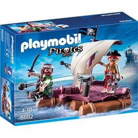 Playmobil Pirata Balsa 6682 Playset 4 A 10 Años