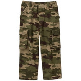 Pantalon Cargo Camuflaje Militar Talla 4 Años