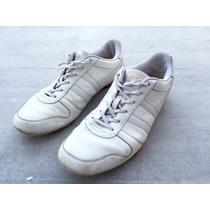 Zapatillas Gola Cuero Blanco Usada