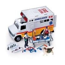 Ambulancia Electrónico W Equipo / Rescate