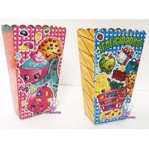 Cajas Para Palomitas O Platos O Vasos Fiesta Shopkins
