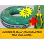 100 Metros Fio Cabo Eletrico Flexível 10mm Ampere