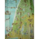 Mapa Pictorico Religion Mundo Biblia Tierra Santa Readers