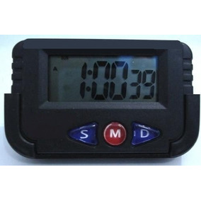 Kit 10 Relógio Digital Carro Portatil