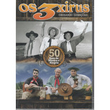 Os 3 Xirus - Dvd 50 Anos De Música E Alegria - Lacrado!