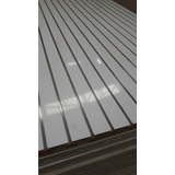 Panel Ranurado Con Inserto De Aluminio Exhibipanel
