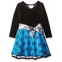 Bello Vestido Para Niñas De Fiesta Bonnie Jean Talla 2