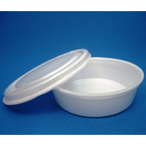 Embalagens P/alimentos (marmitex)n.8 De Isopor 850 Ml