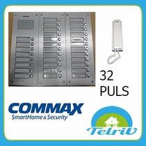 Portero Eléctrico Commax 32 Departamentos + 31 Tel + Fuente