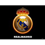 Caderno De 20 Matérias Real Madrid C/adesivos