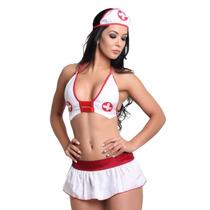 Fantasia Enfermeira Do Prazer Lingerie Sexy Sensual