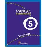 Manual Santillana 5 Recorridos Bonaerense (novedad 2012