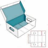 Vectores De Cajas Para Editar Imprimir,armar Moldes Troquel